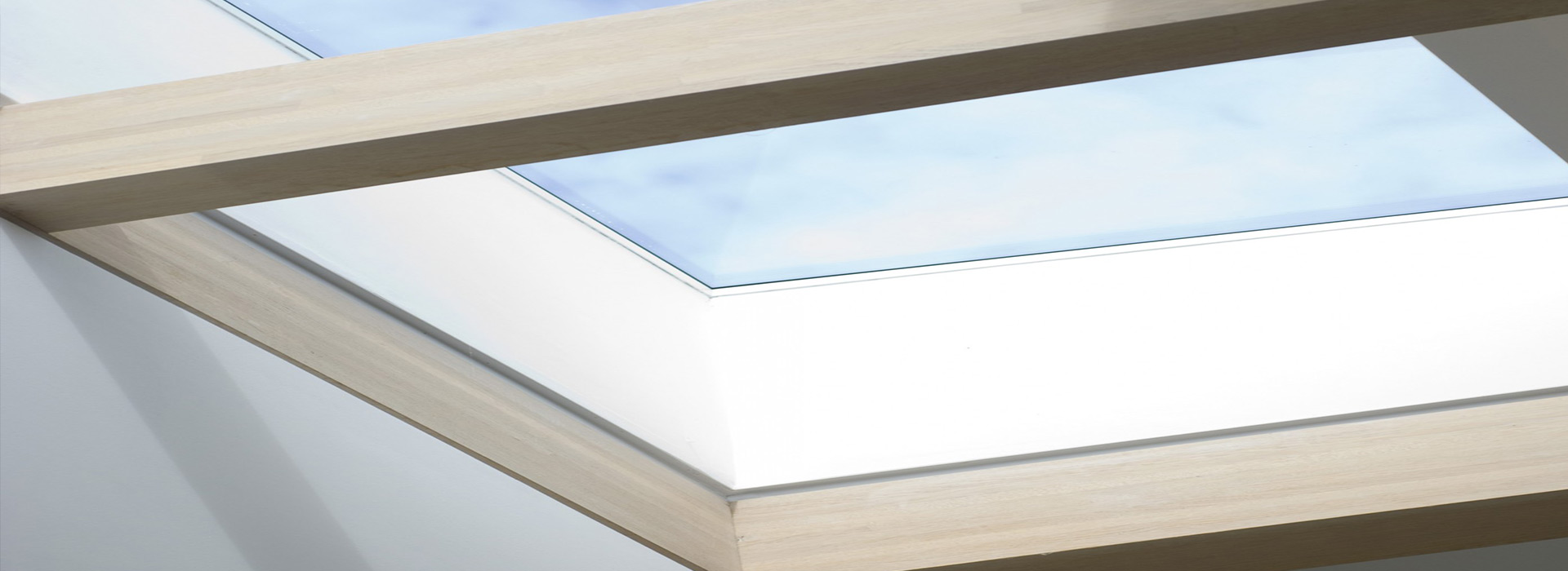 Roof light with oak beams