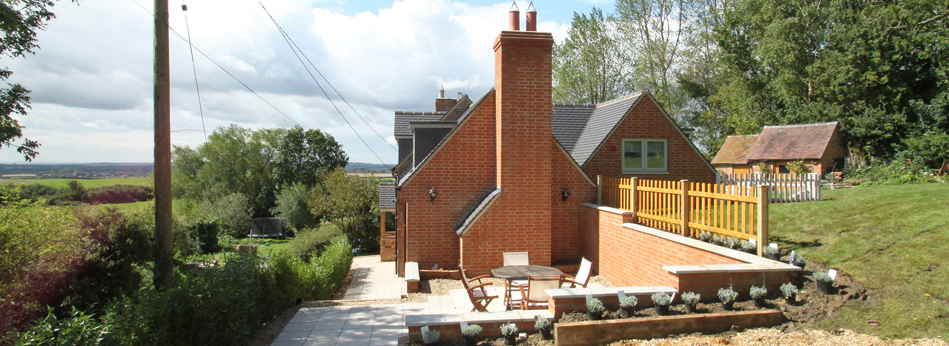 Redbrick self build detached house