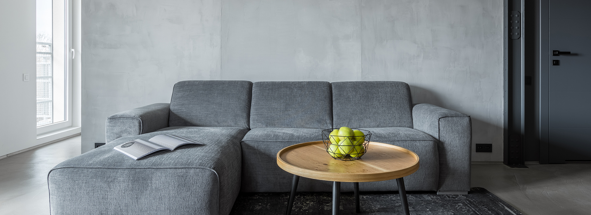 Grey style interior