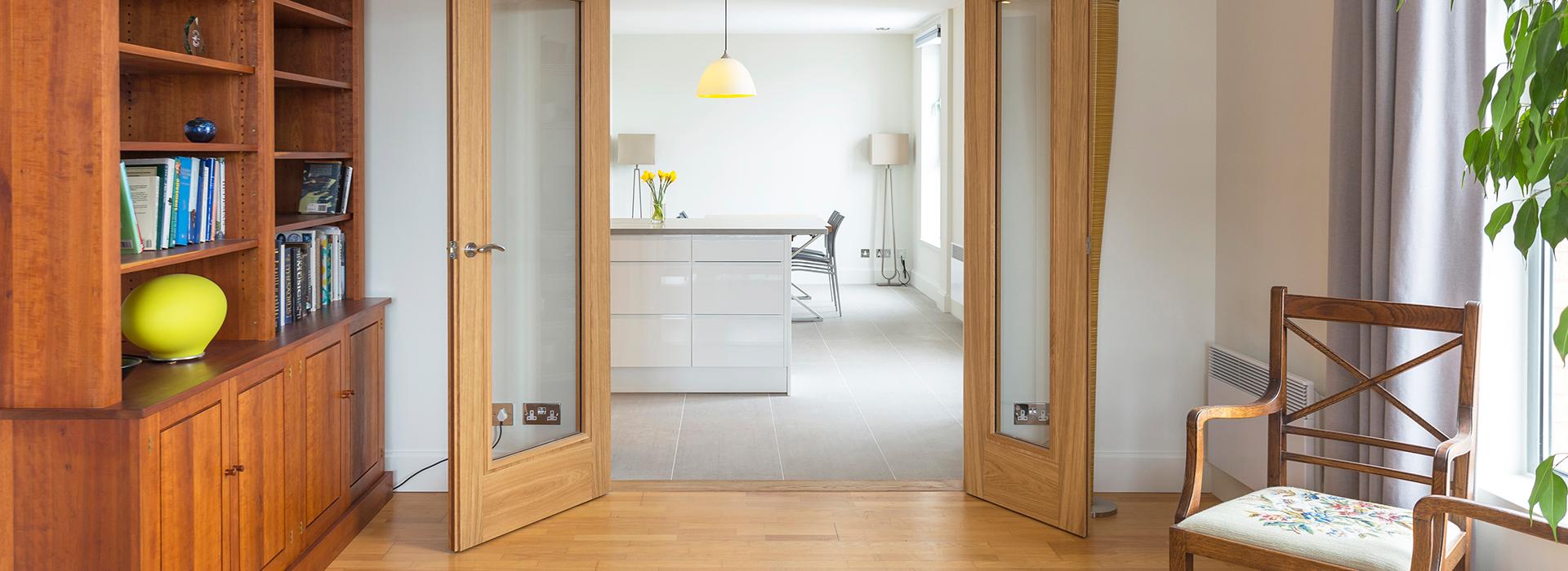 Oak door pairs