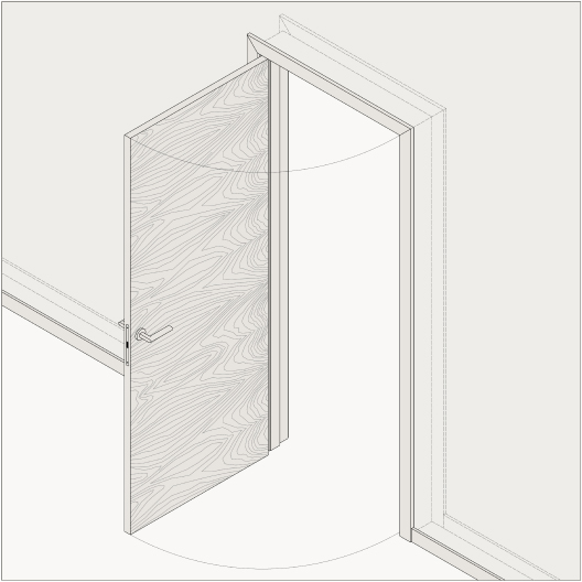 Custom made interior door-sets 1