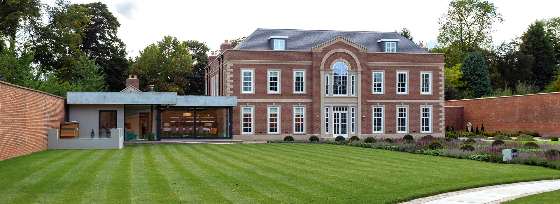 Regency Style Mansion
