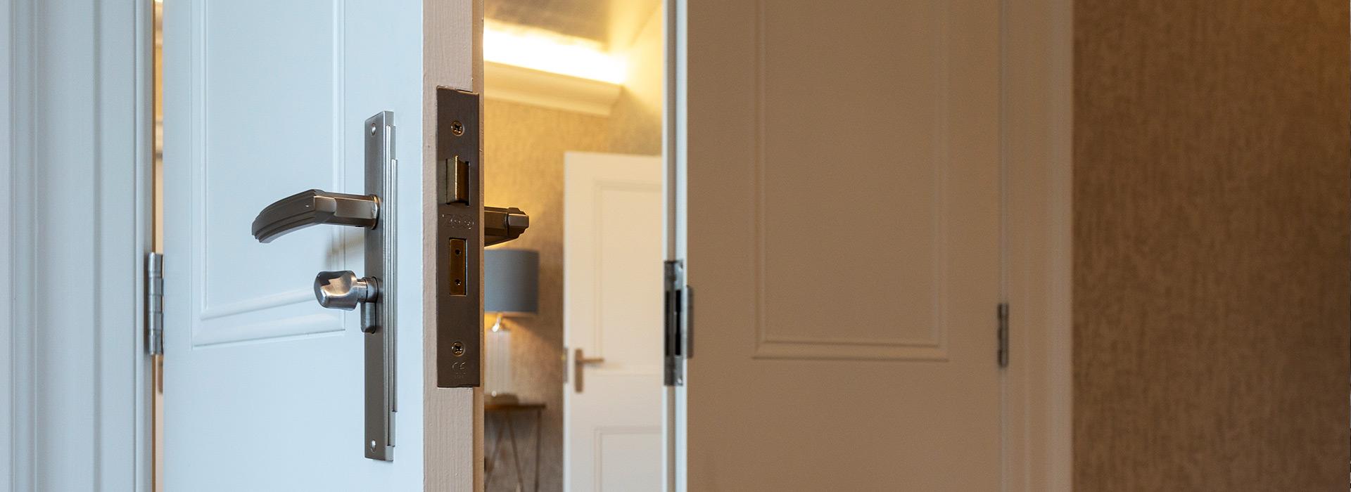 Rebated interior doors