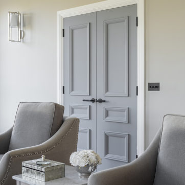 Luxury grey doors